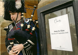 Wedding of Anne and Alan