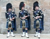 Pipers in uniform are guaranteed to draw attention to your function.
